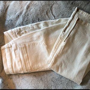 White skinny jeans Size 10